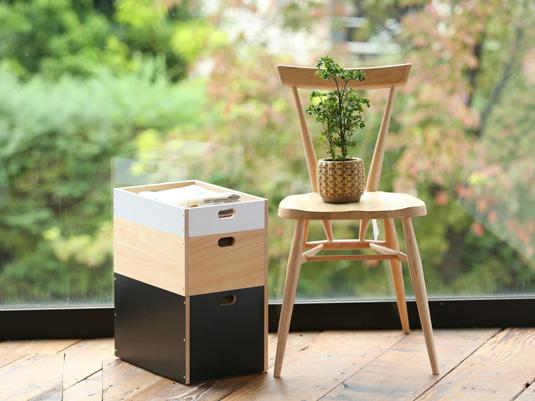 【先行販売】ありそうでない、スタッキングできる木製収納ボックス