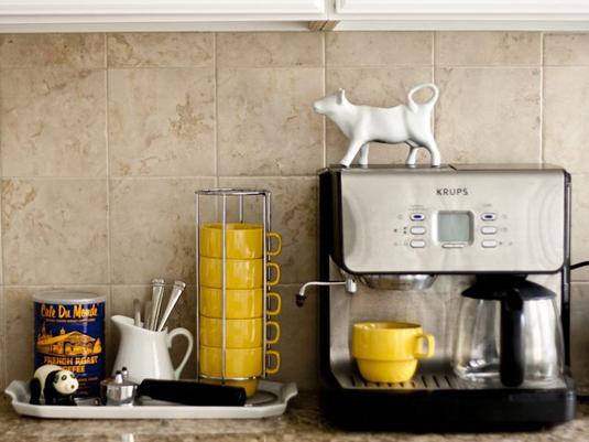 飲みたい時にすぐいれられる、Tea&Coffeeコーナーを作ろう。