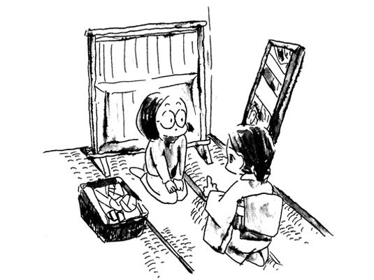 第十二回 鏡を見てはいけない理由
