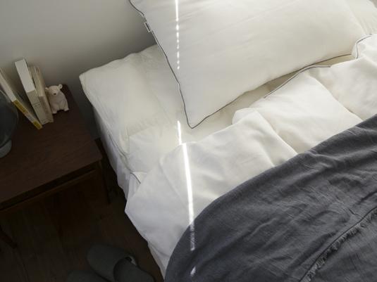 ベッドに敷くだけで翌朝の体が楽になりました