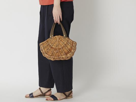 コーディネートをもっと夏らしく!季節を感じる涼し気なバッグ